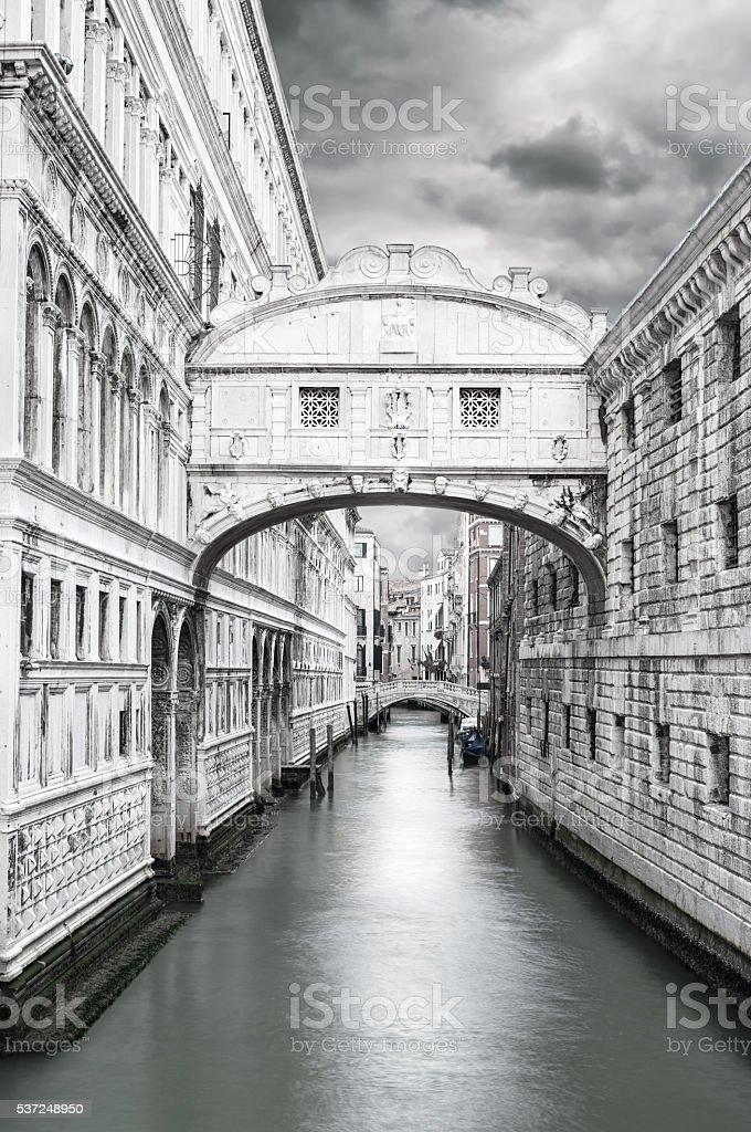 Bridge of sigh. stock photo