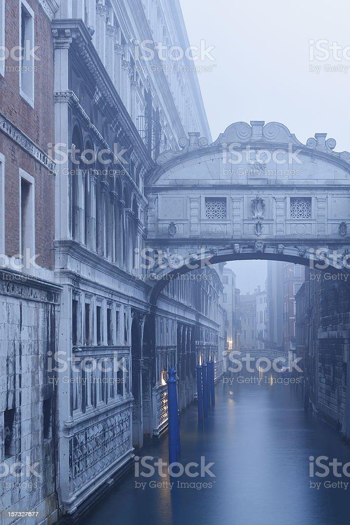 Bridge of Sighs royalty-free stock photo