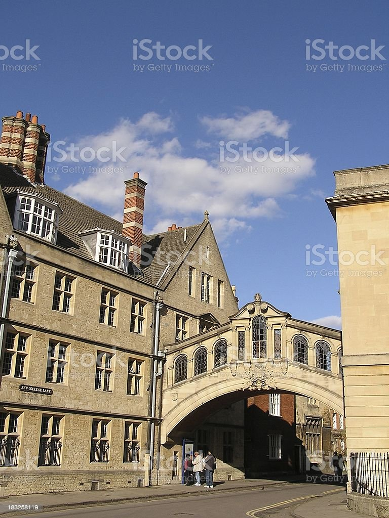 Bridge of Sighs royalty-free stock photo