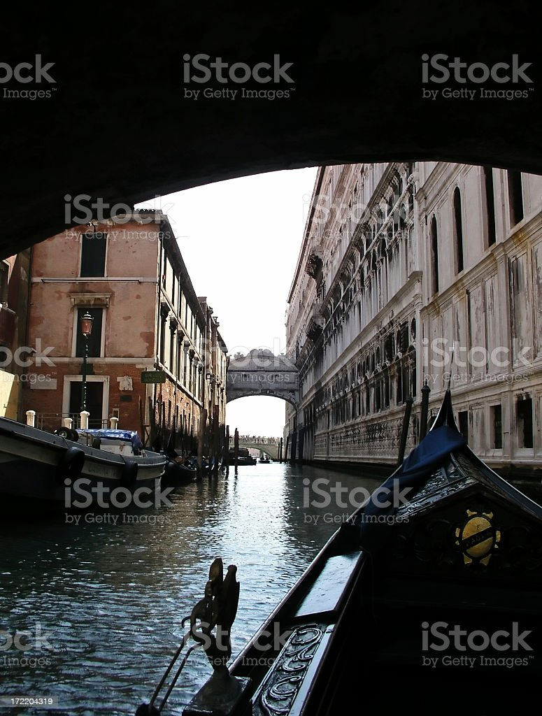 Bridge of Sighs - Venice, Italy royalty-free stock photo