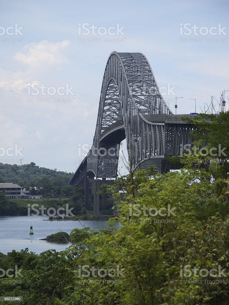 Bridge of the Americas 2 royalty-free stock photo