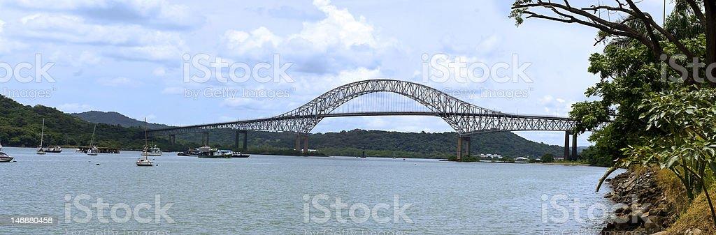 Bridge of The Americas stock photo