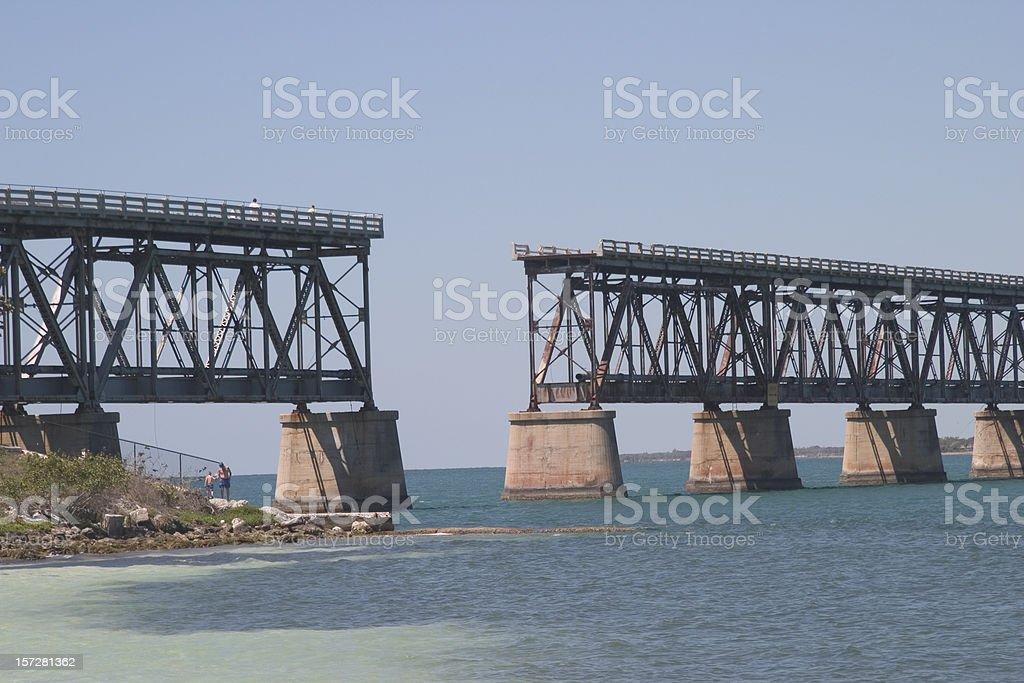 Bridge Out royalty-free stock photo