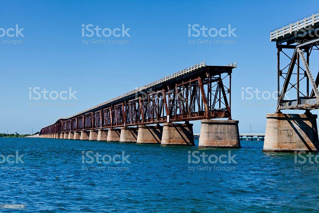 Bridge Out stock photo