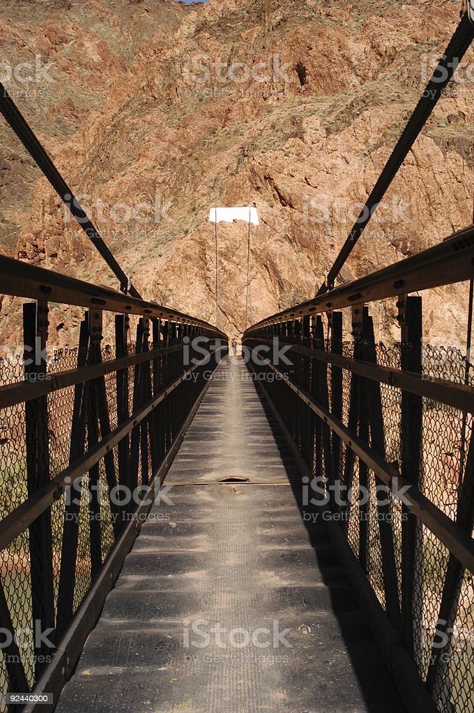 Bridge Over Colorado River royalty-free stock photo
