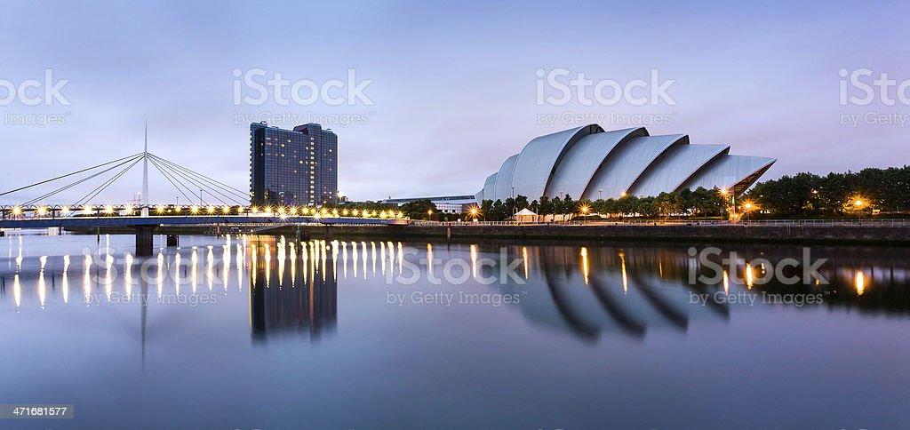 Bridge Over The Clyde stock photo