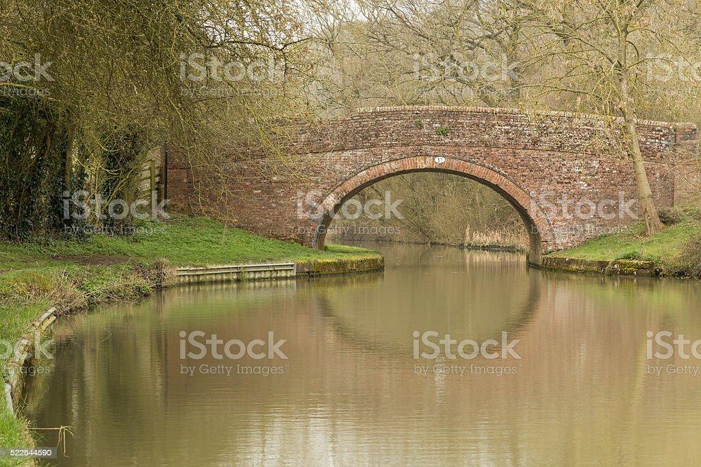Bridge Over The Grand Union. stock photo