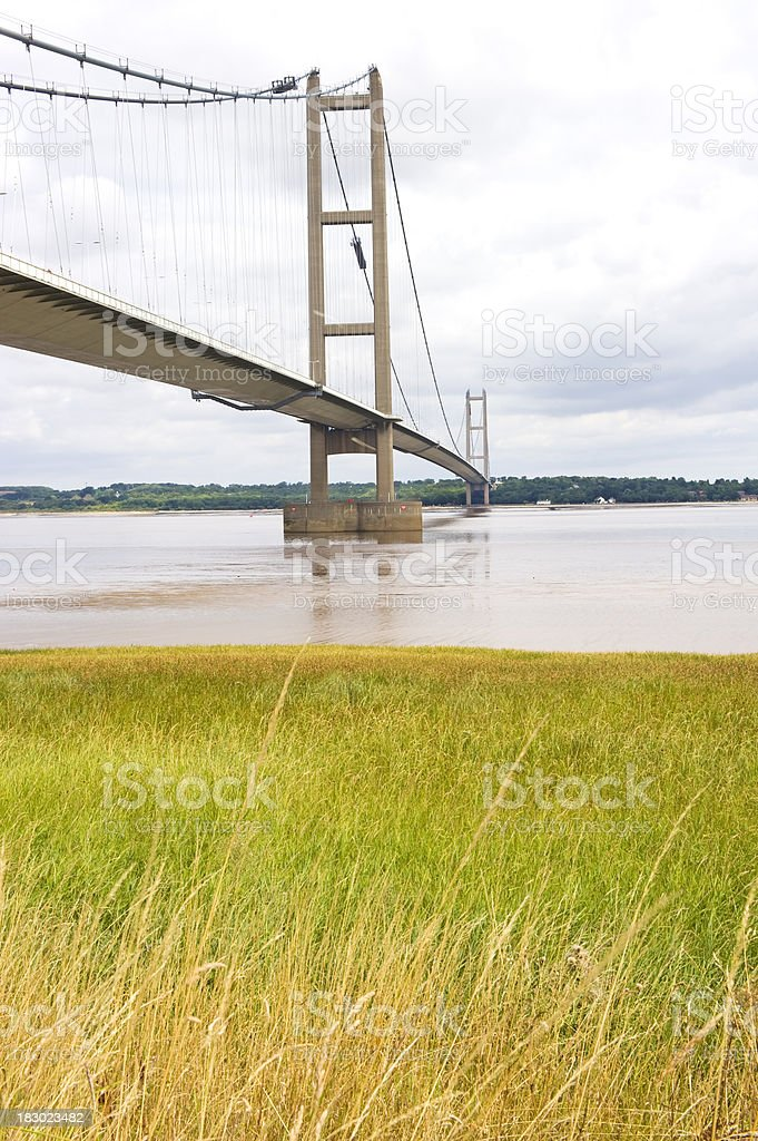 Bridge over the Humber royalty-free stock photo