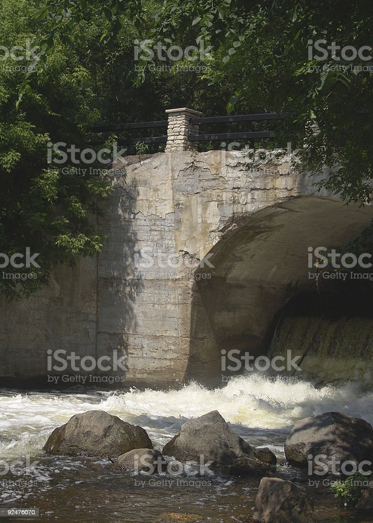Bridge over Troubled Waters royalty-free stock photo