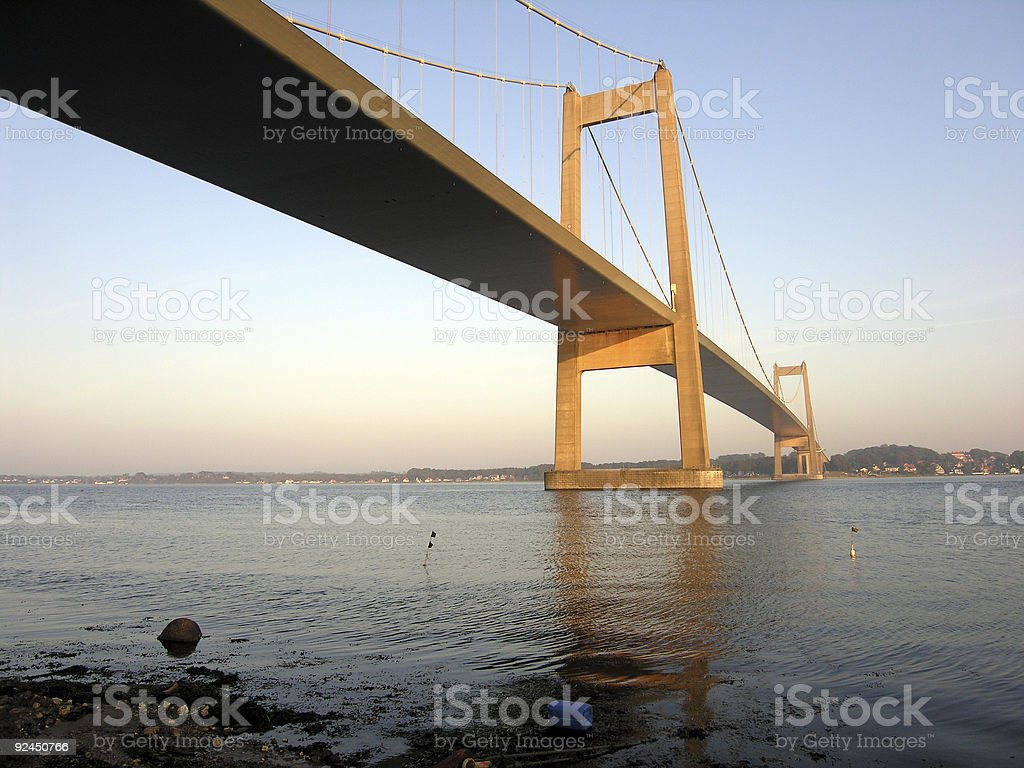 Bridge over Trubled Water royalty-free stock photo