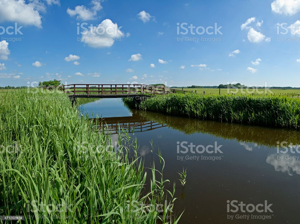 Bridge over Water royalty-free stock photo