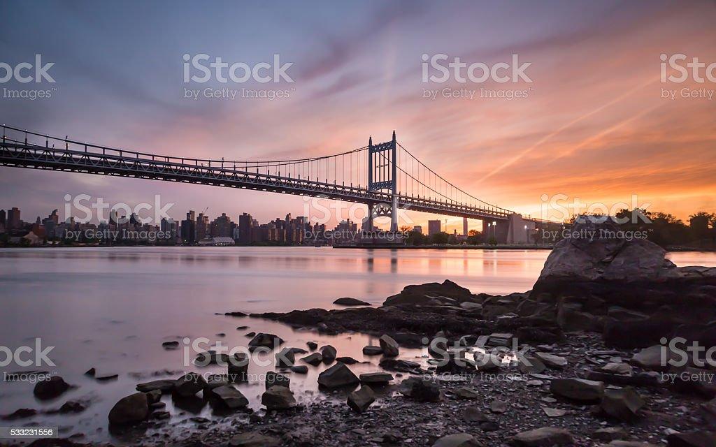 RFK (Triborough) Bridge stock photo