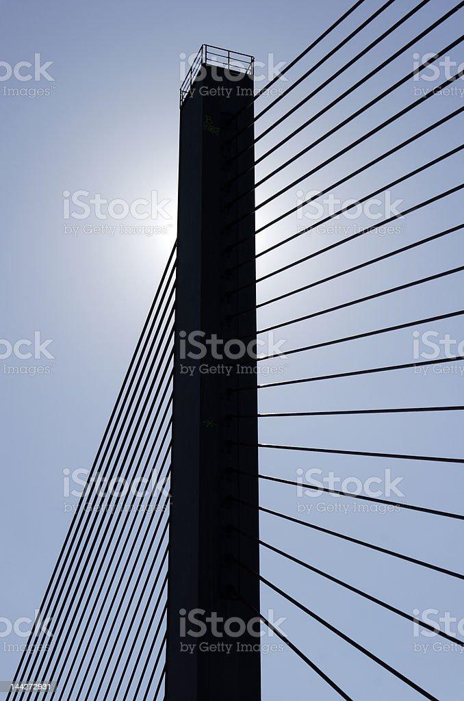 bridge pier II royalty-free stock photo