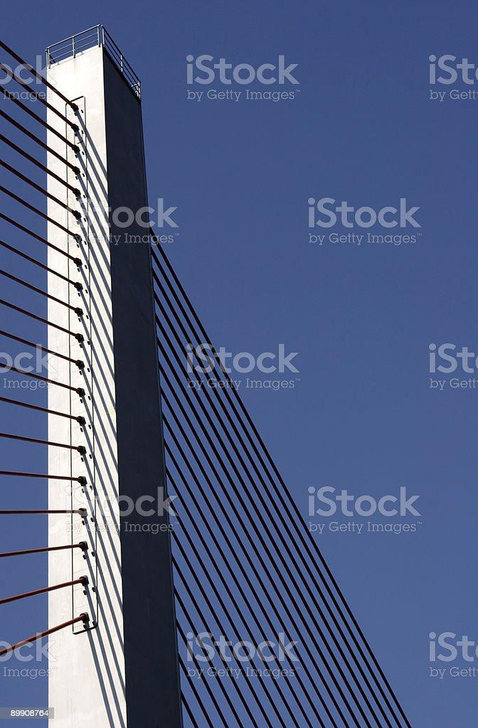 bridge pier royalty-free stock photo