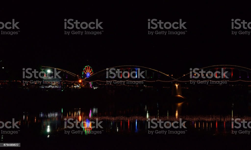Bridge, ratchadapisek, Lampang stock photo