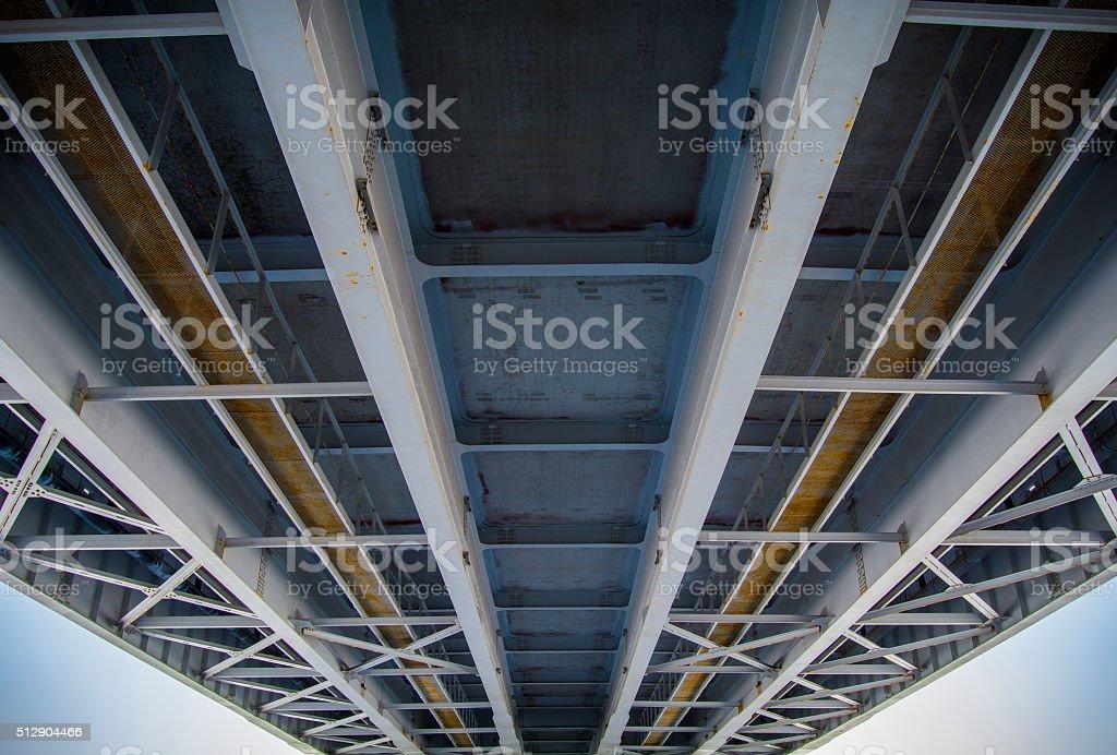 Bridge road photo libre de droits