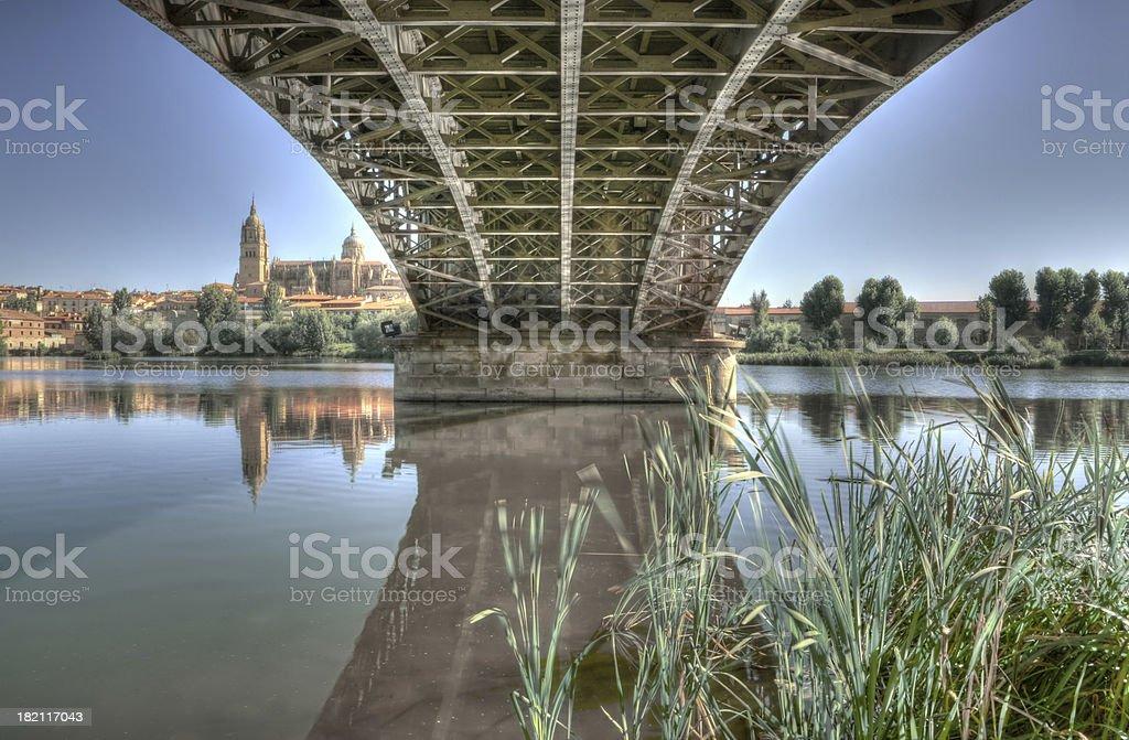 Bridge Sanchez Fabres stock photo