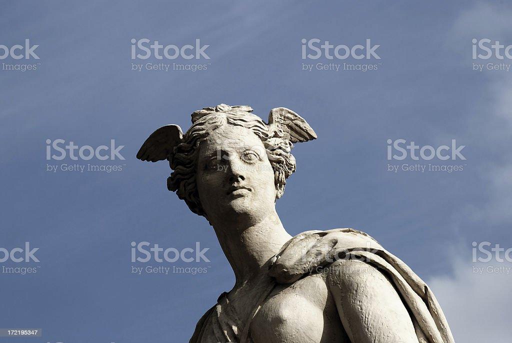 bridge sculptur paris royalty-free stock photo