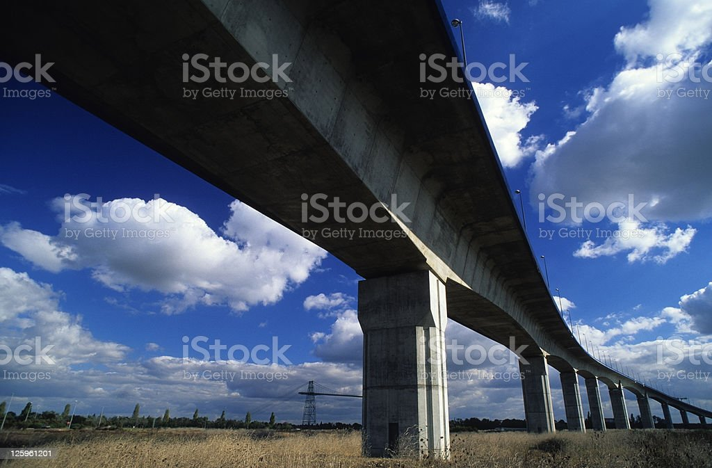 Struttura a ponte foto stock royalty-free