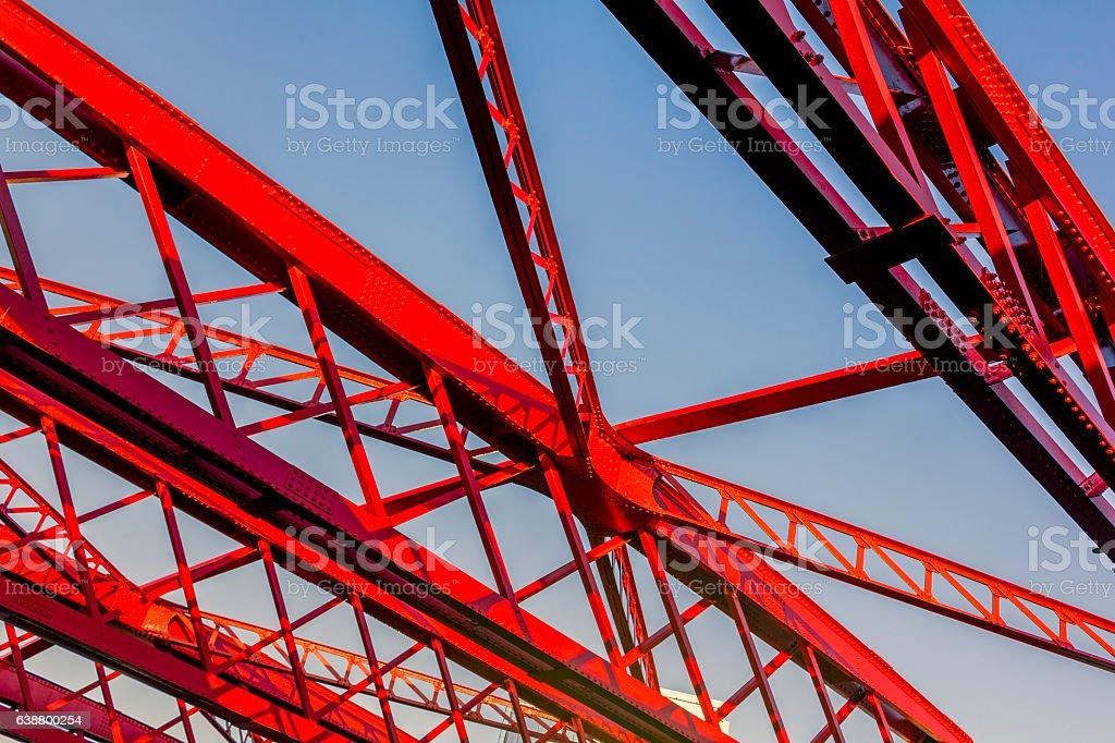 Bridge Support stock photo