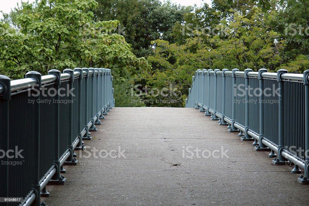 Bridge to Eden royalty-free stock photo