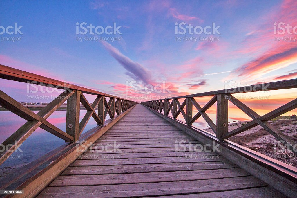 Bridge to Heaven stock photo