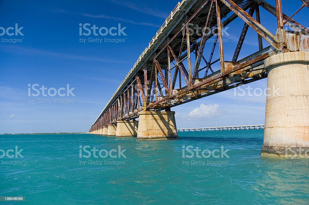 Bridge to Paradise royalty-free stock photo