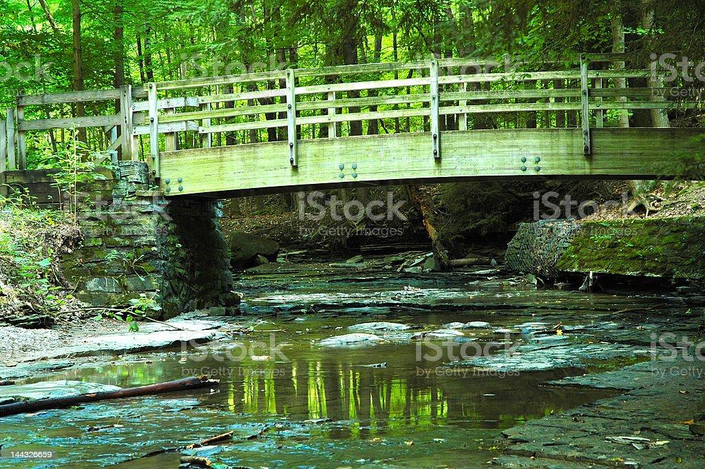 Bridge too far! stock photo