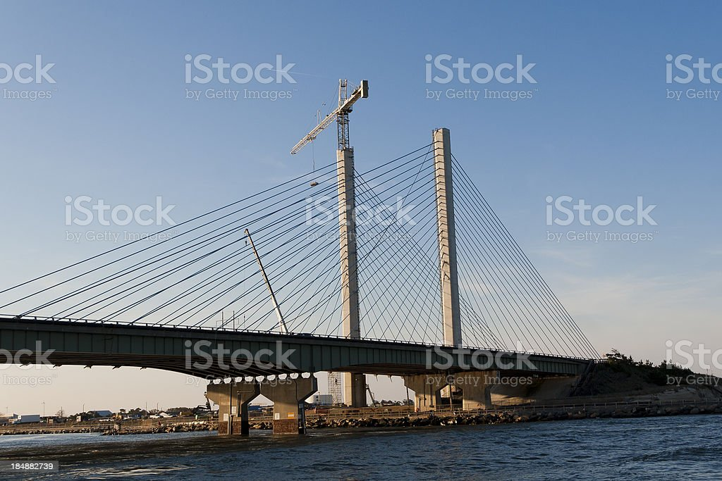 Bridge Under Construction royalty-free stock photo