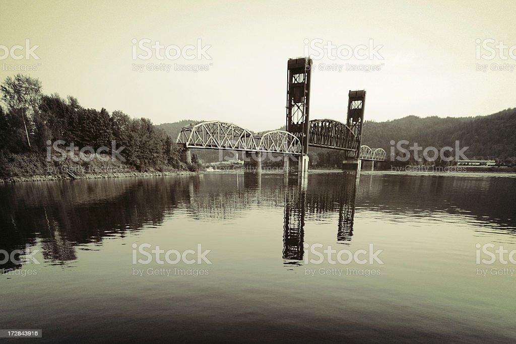 Bridge up royalty-free stock photo