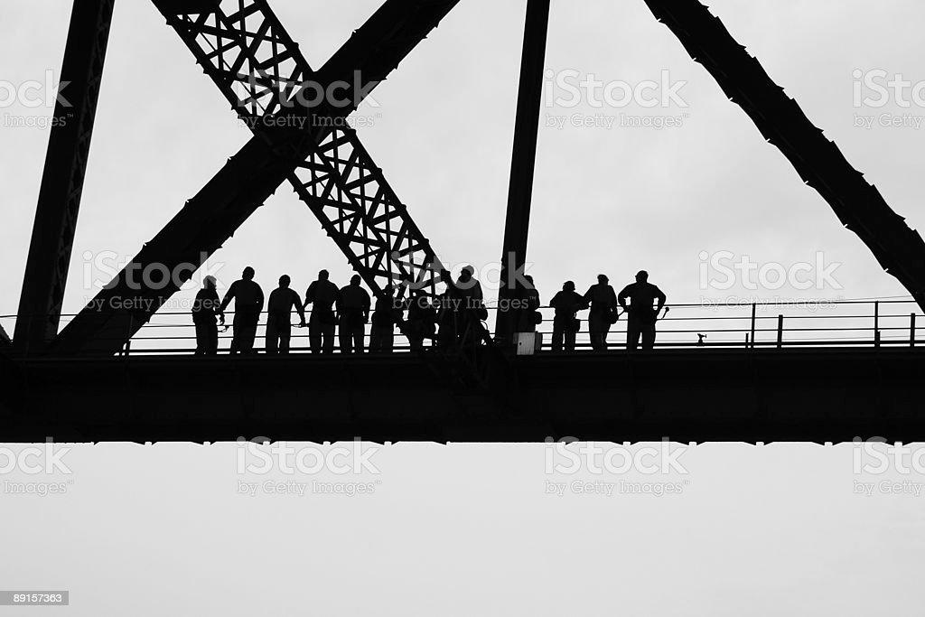 Bridgeclimb stock photo