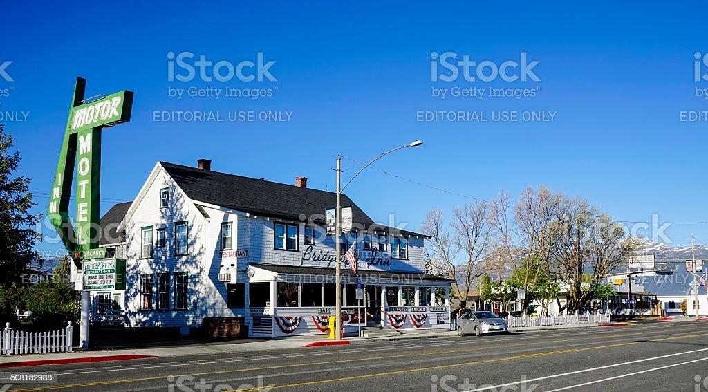 Bridgeport, California stock photo