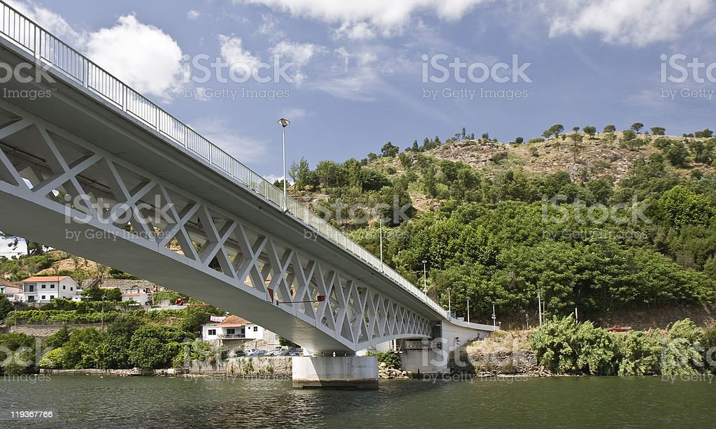 Bridges of the Douro River royalty-free stock photo