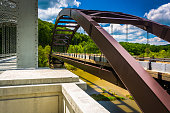 Bridges over Loch Raven Reservoir, in Baltimore, Maryland.