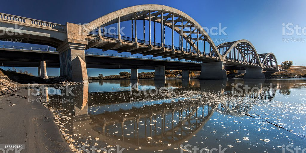 Bridges over the River royalty-free stock photo