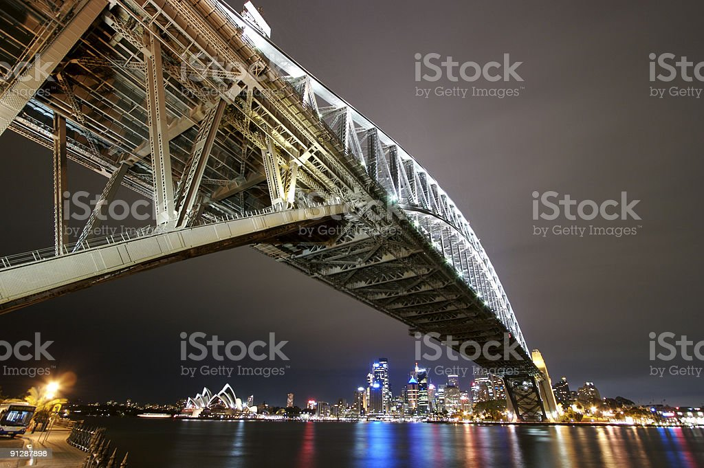 Bridgescape2 royalty-free stock photo