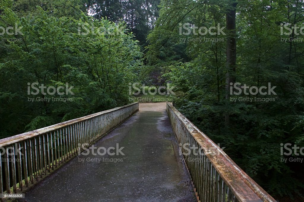 Bridgeway to Brussels stock photo