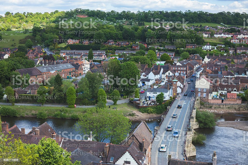 Bridgnorth stock photo