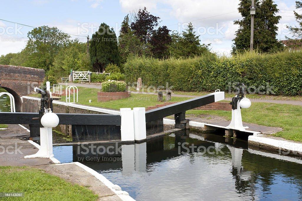 Bridgwater et de Taunton Canal photo libre de droits
