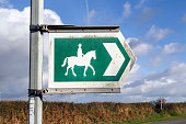 Bridle Way Sign