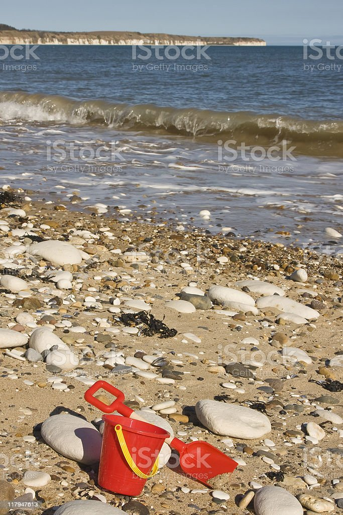 Bridlington Beach stock photo