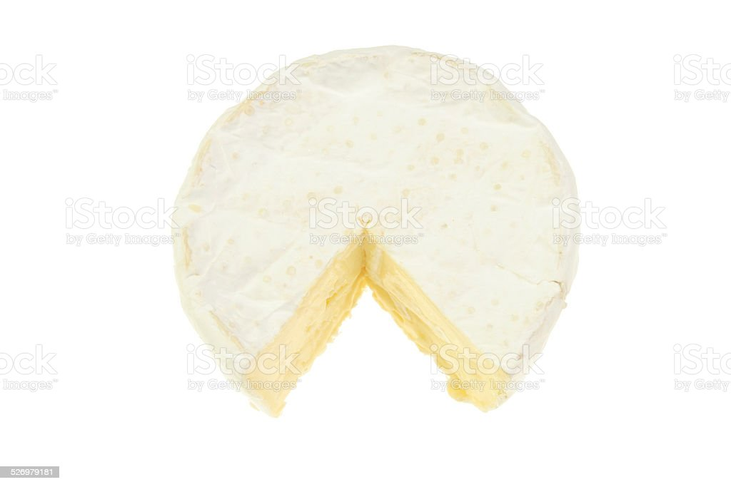 Brie cheese stock photo