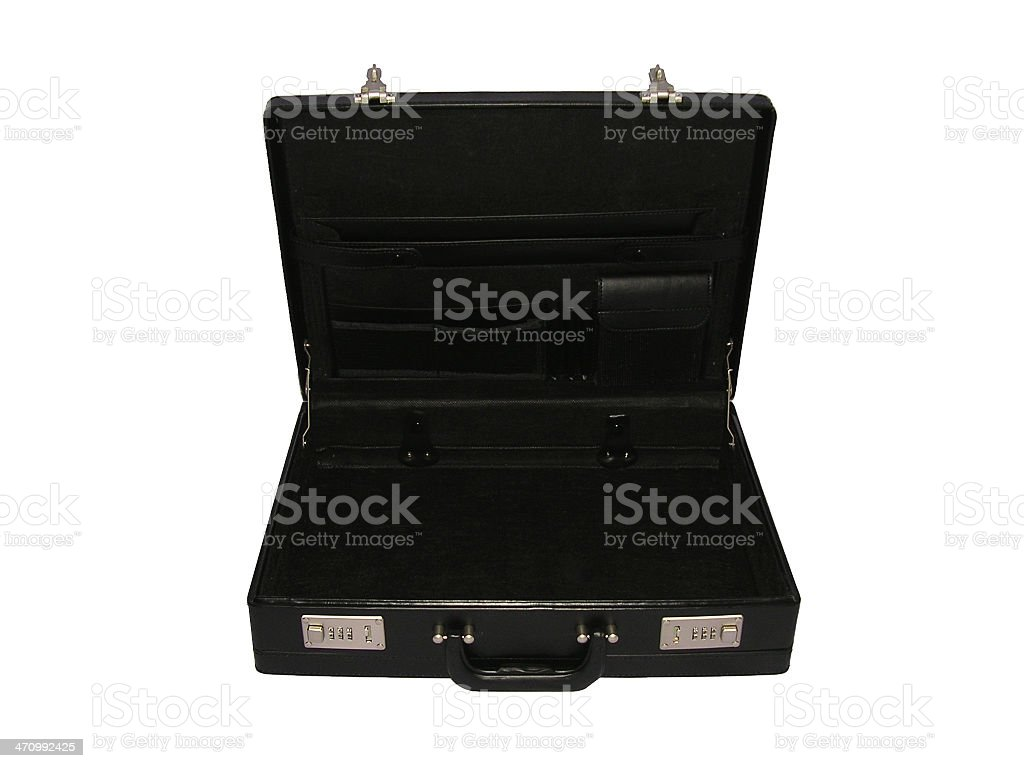 Briefcase 4 royalty-free stock photo