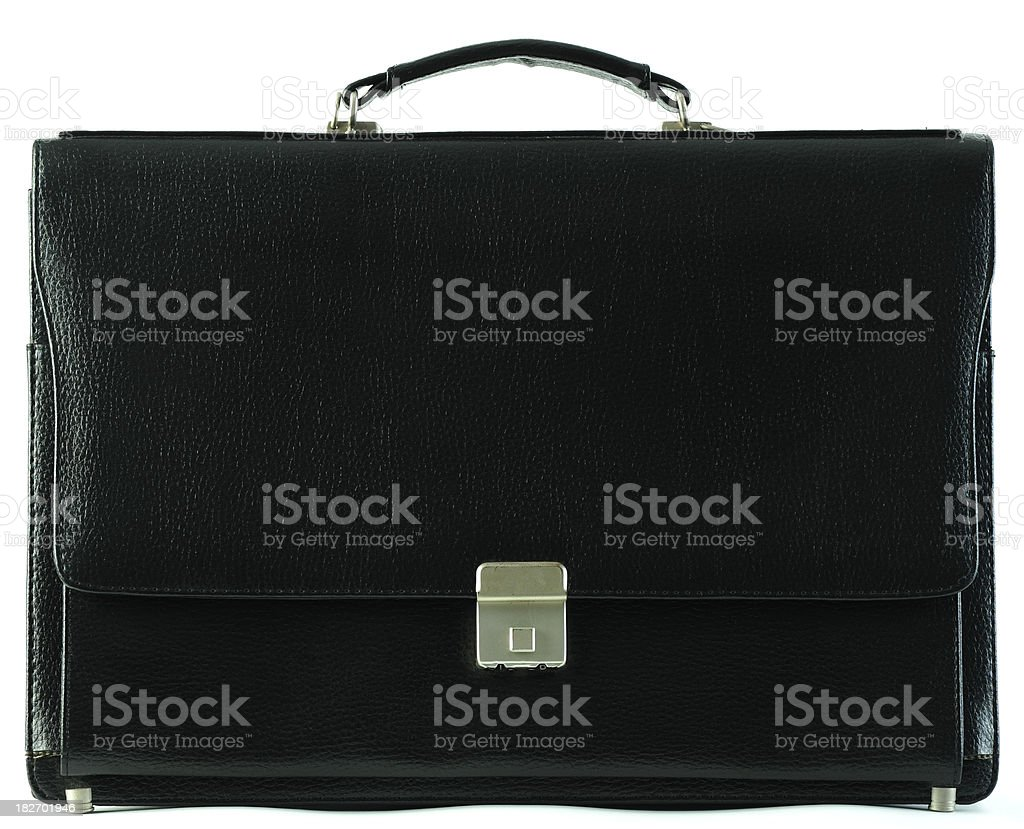 Briefcase stock photo