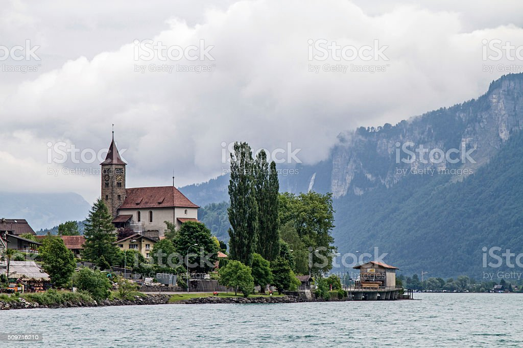 Brienz stock photo