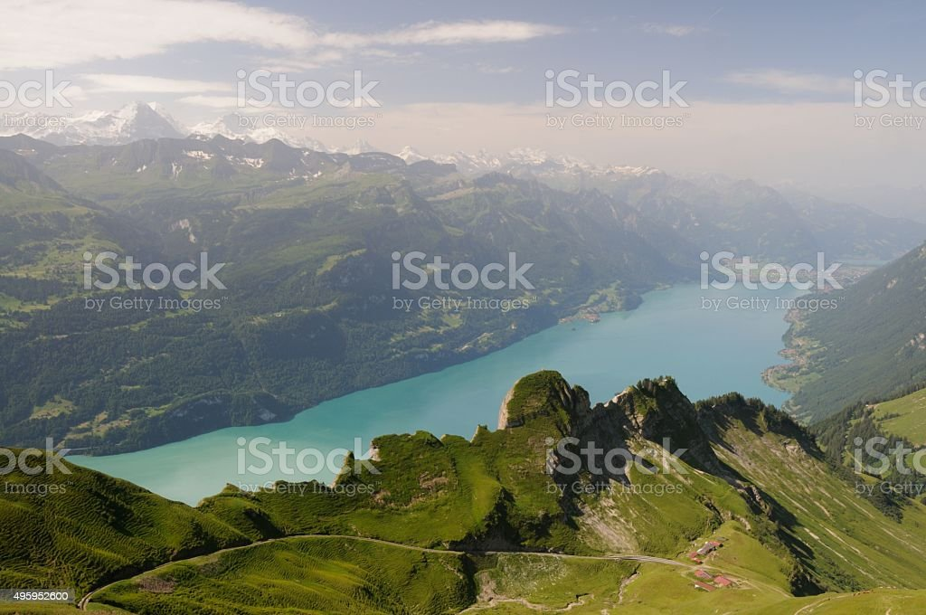 Brienz Rothorn View stock photo