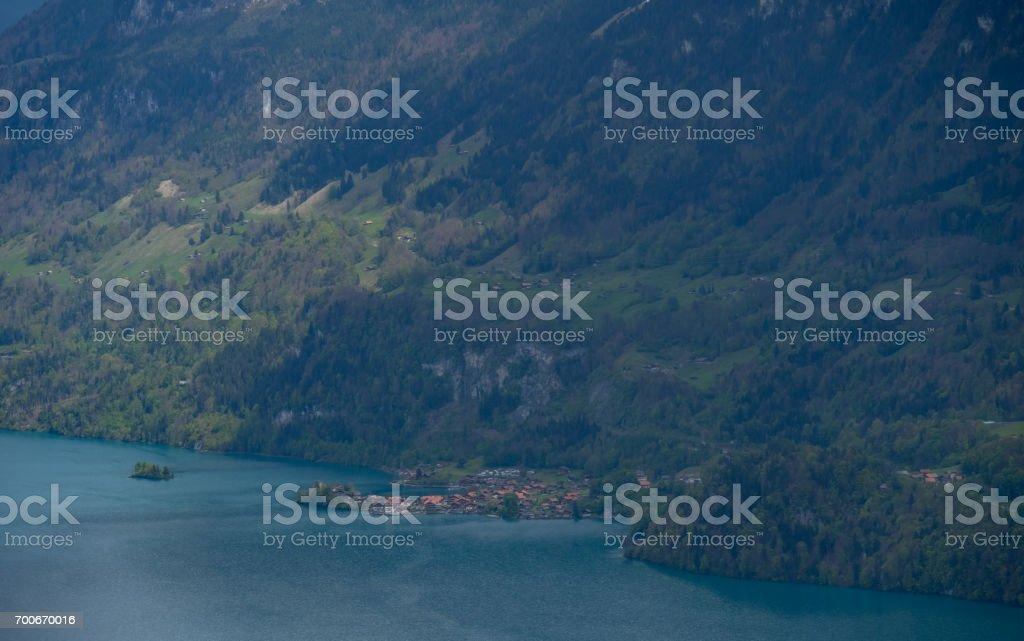 Brienz Village, Switzerland stock photo