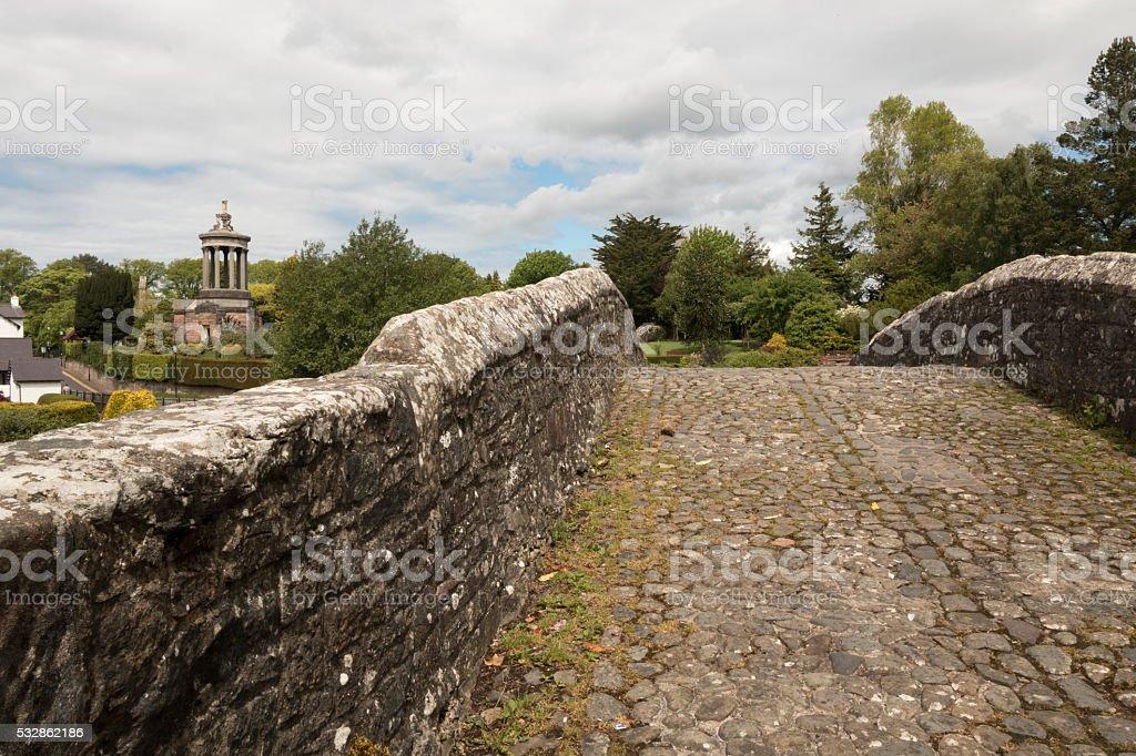 Brig O'Doon stock photo