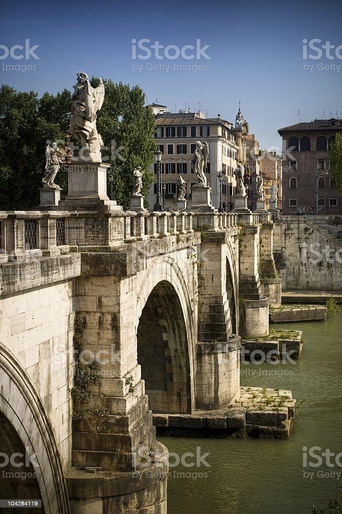 Brigde in Rome, Italy royalty-free stock photo