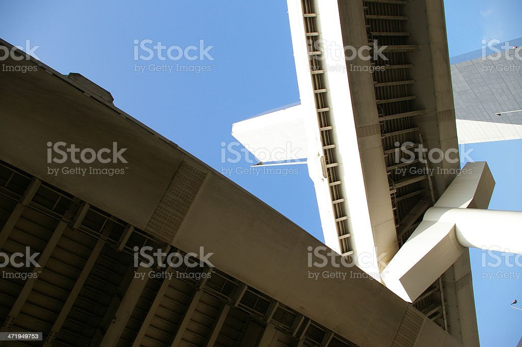 Briges crossing stock photo